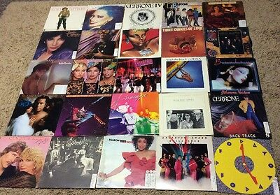 Lot Of 25 Vinyl Records LP, DISCO R&B SOUL FUNK