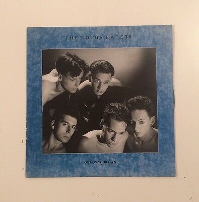 """The Lotus Eaters - Out On Your Own - 12"""" LP Vinyl Record - (1984)"""