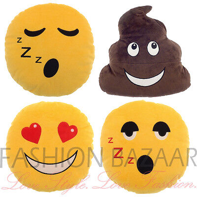 Emoji Emoticon Soft Plush 1L Hot Water Bottle & Cover Adults Kids Christmas Gift