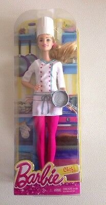 Barbie Careers Kitchen Chef Doll -  New