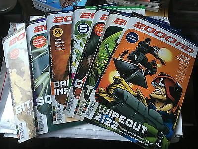 2000Ad Back Progs 1200-1297  Any 2 For £1.00  - All In Ex Condition Judge Dredd