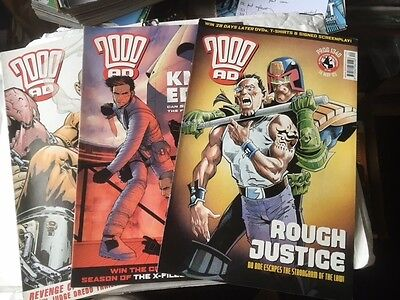 2000Ad Back Progs 1301-1399 Any 2 For £1.00  - All Ex Condition Judge Dredd
