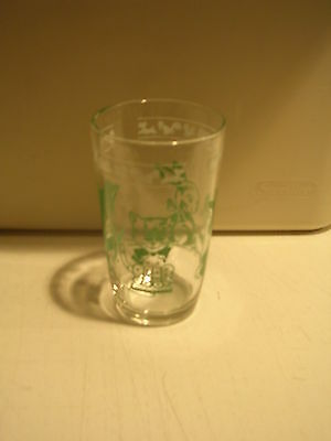 Decorated Rabbit, Kittens and Farm Animals Children's Juice Glass, Free Ship!
