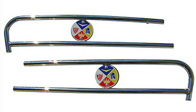 Lambretta Chrome Side Panel Embellishers Li S-3