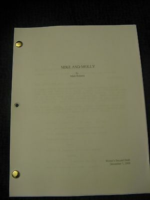 Mike and Molly TV Series Script COLOR Pilot Episode 12/05/2009 Melissa McCarthy