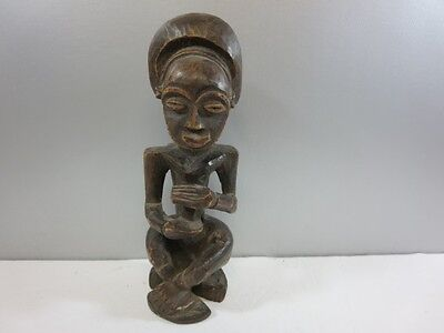 Hand Carved Wood Ethnic Statue