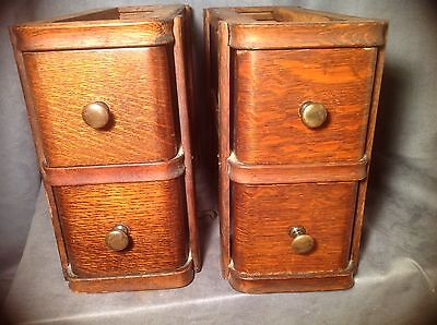 4 Singer Treadle Sewing Machine Wooden Cabinet Drawers