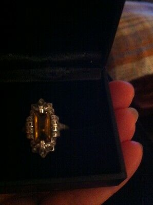 9Ct Gold Art Deco Ring