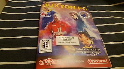 Buxton FC V Corby Town 2016/17