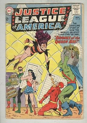 Justice League of America #23 November 1963 G Queen Bee