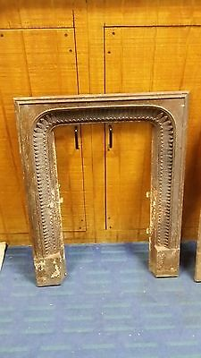 """Antique cast iron Fireplace Surround  Arched  """"NICE"""" Charleston S.C.2 available"""