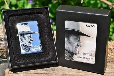 Zippo Lighter - John Wayne Collection - Legend - Limited Edition  - Model: 21117