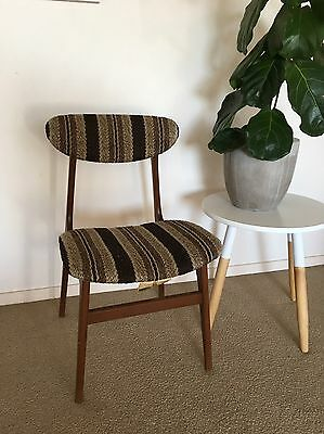 Vintage Retro Parker Style Chairs Timber x 2