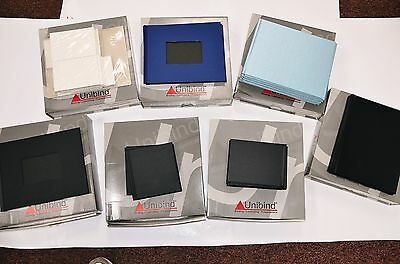 Unibind Covers  Mixed lot of 45 New Covers for Photo Books