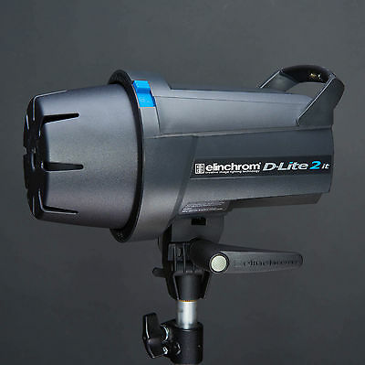 Elinchrom D-lite IT 2 Studio Lighting Flash Head 200w