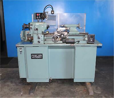 "11"" x 18"" Feeler Hardinge Style HLVH High Precision Toolroom Lathe Metal Turning"