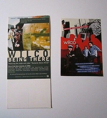 Wilco 1997 Promo Standup Record Store Display Being There & Japanese Pamphlet