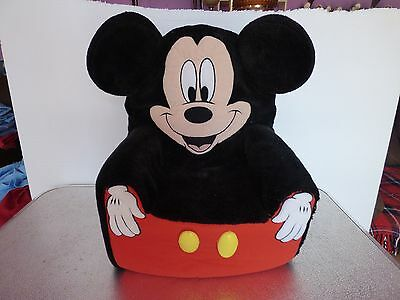 Mickey Mouse 1990's foam childs chair 20x16 nice