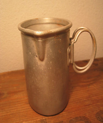 WW2 German CANTEEN CUP Aluminum M31 Marked W.A.L.36 water Wehrmacht LW
