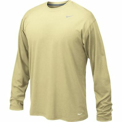NWT Nike Men's Dri-Fit Legend Poly Long Sleeve Tee Shirt Size XL 384408