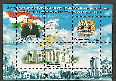 TAJIKISTAN 2006 - 15 Years Independence**  .  MNH