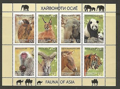 TAJIKISTAN 2009 - Fauna of Asia **  WILD ANIMALS. MNH