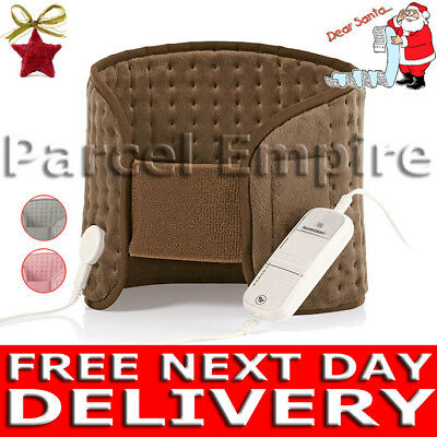 FREE NEXT-DAY Electric BACK BODY WARMER Arthritis Heater Pad Xmas Present Gift