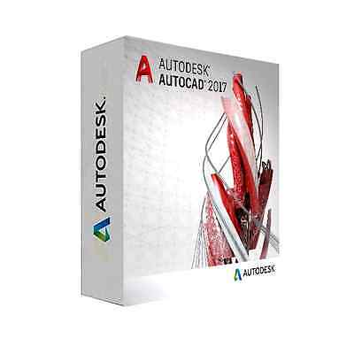 AutoCAD 2017 - CAN DO BULK FOR CHEAPER - 2 USERS / PCS - FULL SUPPORT