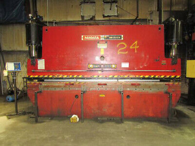 175 Ton x 14' Niagara CNC Hydraulic Press Brake Metal Bender