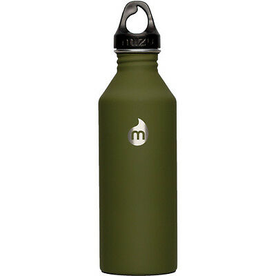 Mizu M8 W Loop Cap Unisex Accessory Water Bottle - Soft Touch Army Green