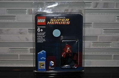 LEGO SDCC COMIC CON 2015 EXCLUSIVE ARSENAL ROY HARPER MINIFIGURE NEW DC (b)