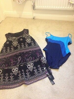 Maternity Swimming Costume And Top Size 12