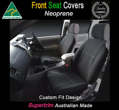 Seat Cover fits Nissan Dualis Front 100% Waterproof Premium Neoprene Airbag Safe