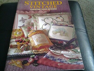 Stitched vintage by Christine Book