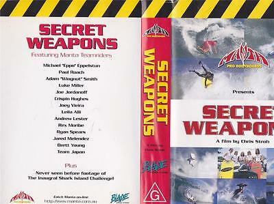 Surfing Secret Weapons Vhs Video Pal~ A Rare Find