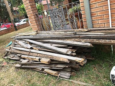 FREE Timber Firewood From Old Fence