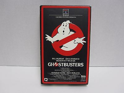 Ghostbusters Beta Max   NOT VHS