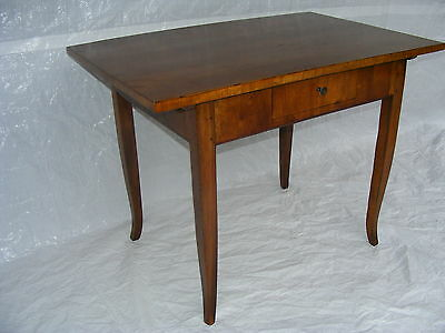 Biedermeier Eiche Tisch resturiert antique oak table after renovation esstisch