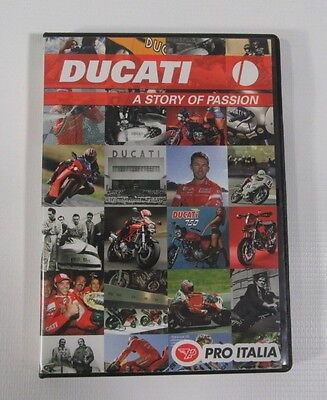 Dvd 2007 Documentary DUCATI: A STORY OF PASSION Bologna Ducati Corse RARELY SEEN