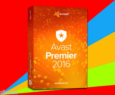 License File Avast Premier 2016 3Year 3pc 3user
