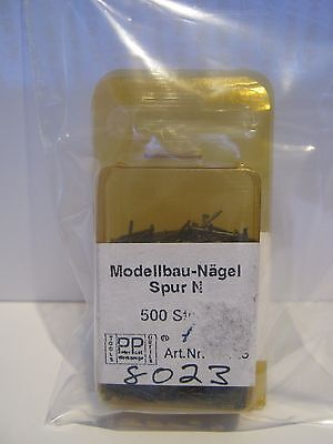 Peter Post #8023  N scale nails pkt of 500 New