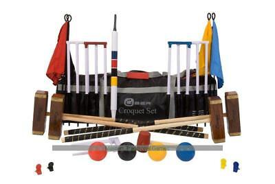 Uber Championship Croquet Set in a bag