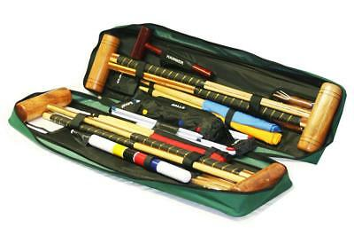 Garden Games Longworth Croquet Set (4 player in a Tool Kit Bag)
