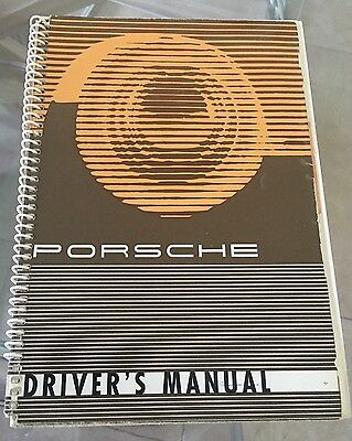 Porsche 356 B Driver's Manual For The Car Printed In Germany Edition April 1960