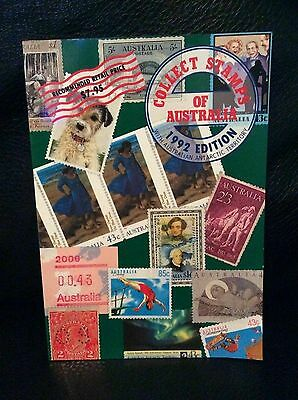 Collect Stamps Of Australia Book 1992 Edition Antarctica Stamp Collecting Rare