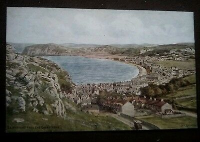Vintage/Old Postcard,,-------,, Llandudno from the Great Orme