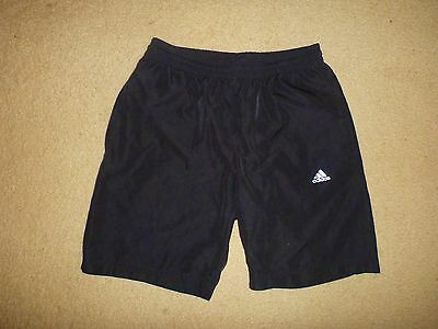New / Shop Quality ADIDAS CLIMACOOL Small Mens Shorts Black Great Condition