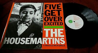 The Housemartins - FIVE GET OVER EXCITED - 12 inch vinyl