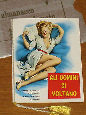 STUPENDO CALENDARIETTO da BARBIERE - ANNO 1967 - PIN UP
