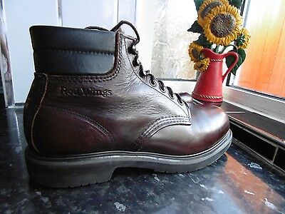 Men's Brown Red Wing 2245 Boots Size Us 10.5 B